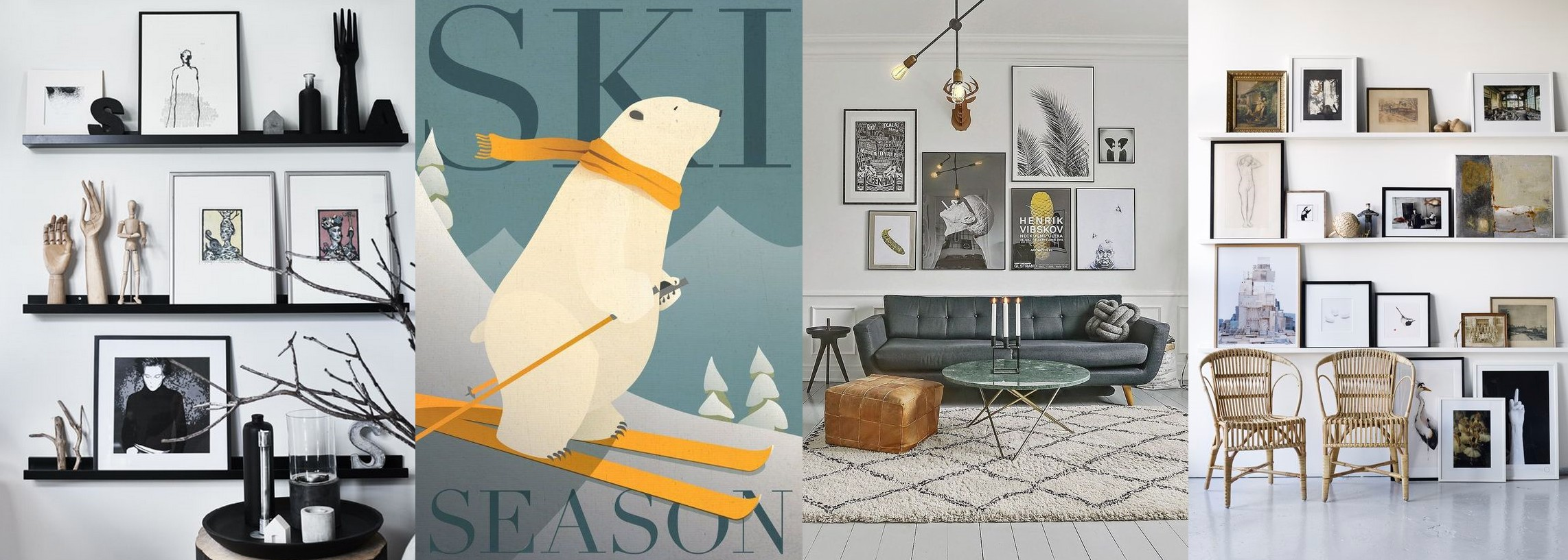 Changer affiches (hiver)