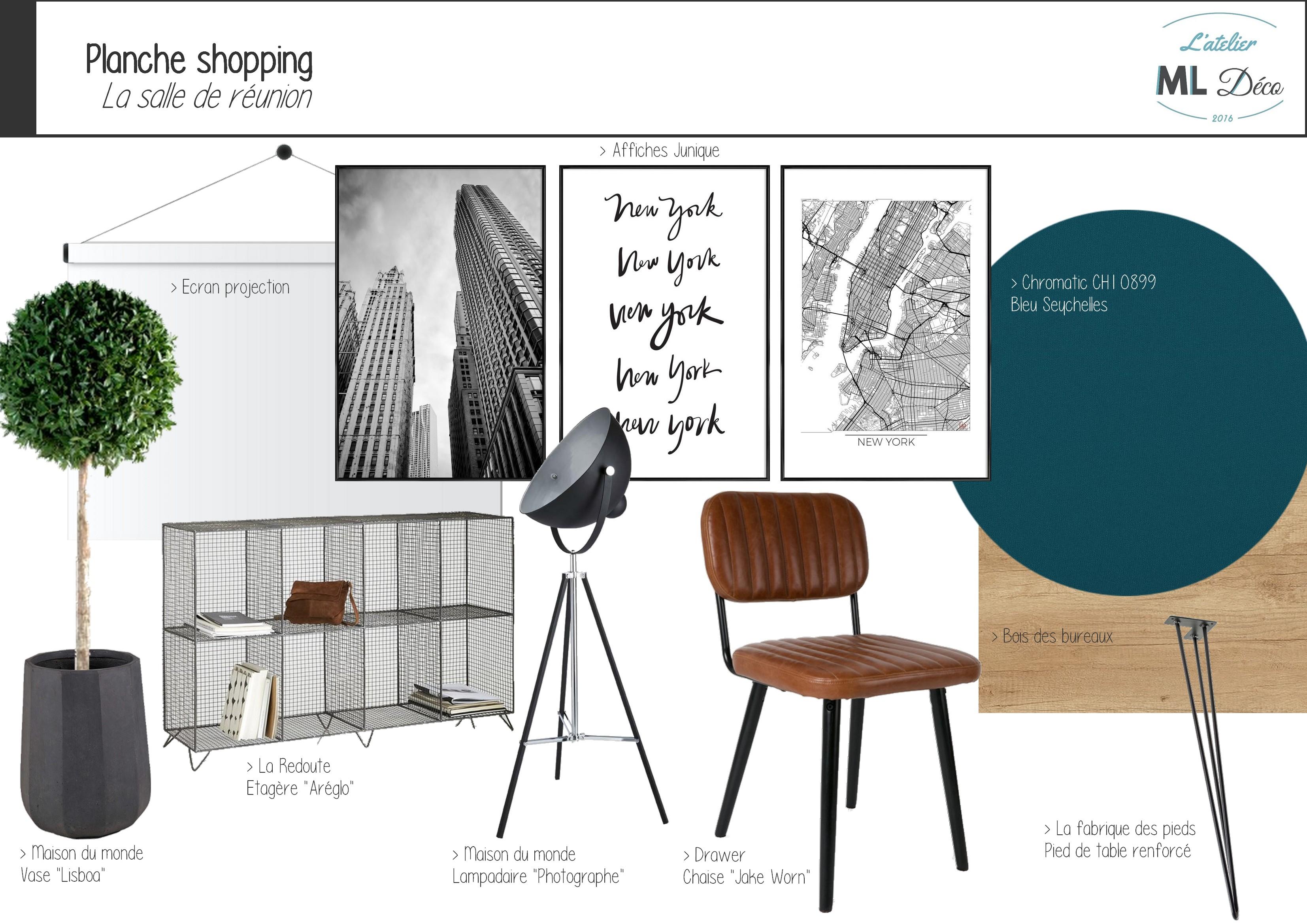 Planche shopping - Salle de réunion