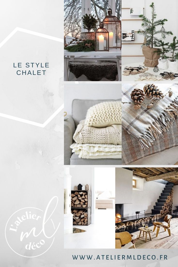Pin . Le style chalet